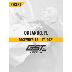 Level 2 Recertification: Orlando, FL (December 13-17, 2021)