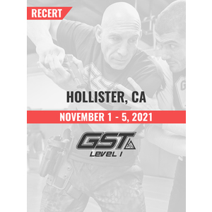 Recertification: Hollister, CA (November 1-5, 2021) TENTATIVE