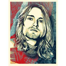 "Obey Giant ""Kurt Cobain - Endless Nameless"" Signed Screen Print"
