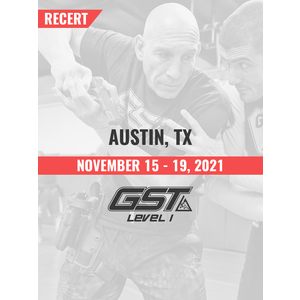 Recertification: Austin, TX (November 15-19, 2021) TENTATIVE