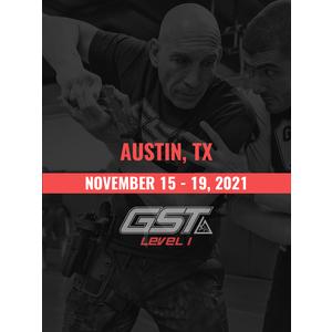 Level 1 Full Certification: Austin, TX (November 15-19, 2021) TENTATIVE