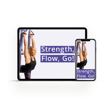 Level II Yoga Trapeze Digital Program & Free PDF Pose Chart - Strength, Flow, Go!