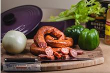Smoked Green Onion Pork Sausage