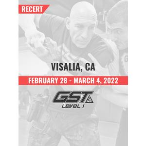 Recertification: Visalia, CA (February 28 - March 4, 2022) TENTATIVE