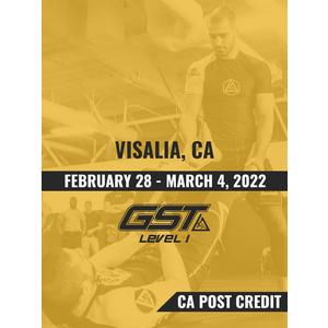 Level 1 Full Certification (CA POST Credit): Visalia, CA (February 28 - March 4, 2022) TENTATIVE
