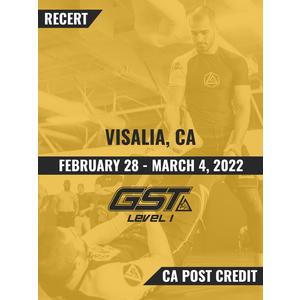 Recertification (CA POST Credit): Visalia, CA (February 28 - March 4, 2022) TENTATIVE