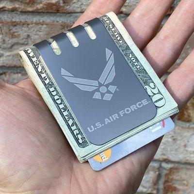 The VIPER™ Titanium Money Clip - UNITED STATES AIR FORCE