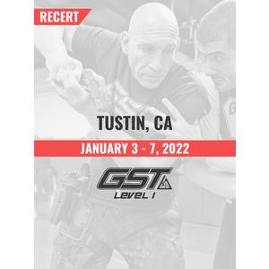 Recertification: Tustin, CA (January 3-7, 2022) TENTATIVE