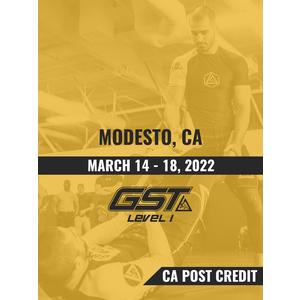 Level 1 Full Certification (CA POST Credit): Modesto, CA (March 14-18, 2022) TENTATIVE