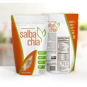 Salba Chia Premium Ground - 6.4oz bag. Approximately 12 servings.