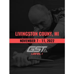 Level 1 Full Certification: Livingston County, MI (November 7-11, 2022)