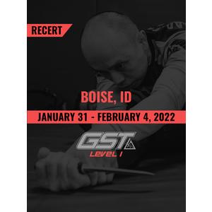 Recertification: Boise, ID (January 31 - February 4, 2022) Tentative