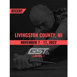 Recertification: Livingston County, MI (November 7-11, 2022)