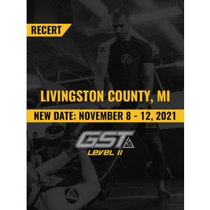 Level 2 Recertification: Livingston County, MI (November 8-12, 2021)