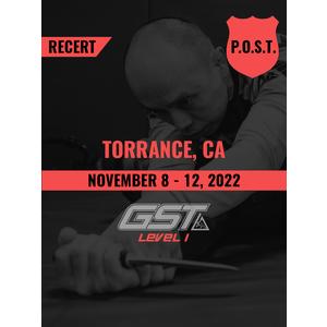 Recertification (CA POST Credit): Torrance, CA (November 8-12, 2021)